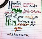 1 Peter 5 6_7 Humble yourselves w banner