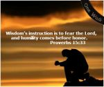 Praying_Proverbs 15 33 w banner